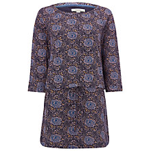 Buy White Stuff Poetical Jersey Tunic Top, Navy Online at johnlewis.com