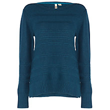 Buy White Stuff Loopy Loop Jumper, Cavolo Teal Online at johnlewis.com