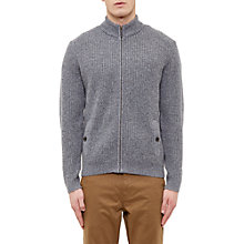 Buy Ted Baker Akela Woven Funnel Neck Zipped Jumper Online at johnlewis.com