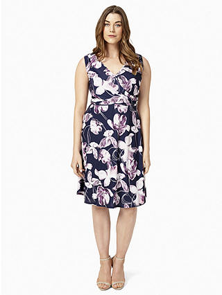 Buy Studio 8 Jen Floral Print Dress, Multi, 12 Online at johnlewis.com