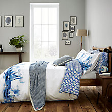 Buy Joules Sailing Boats Cotton Bedding Online at johnlewis.com