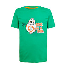 Buy LEGO Boys' Star Wars Short Sleeve T-Shirt, Green Online at johnlewis.com