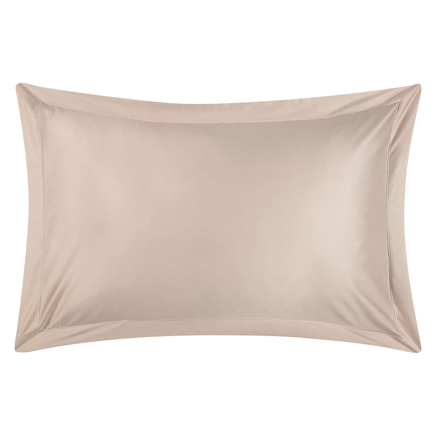 BuyJohn Lewis 400 Thread Count Crisp & Fresh Egyptian Cotton Standard Pillowcase, Latte Online at johnlewis.com