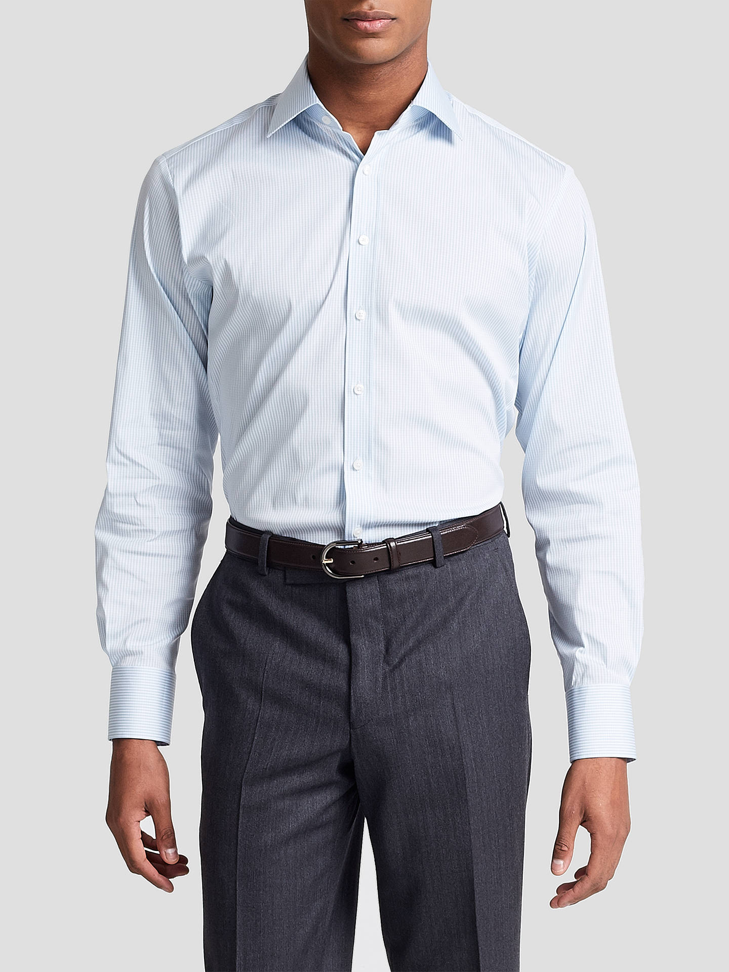 Athletic Fit White Dress Shirts Cotswold Hire
