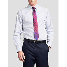 Buy Thomas Pink Lipson Stripe Slim Fit XL Sleeve Shirt, Blue/White Online at johnlewis.com