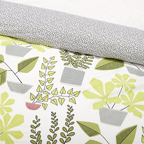 Buy MissPrint House Plants Duvet Cover and Pillowcase Set Online at johnlewis.com