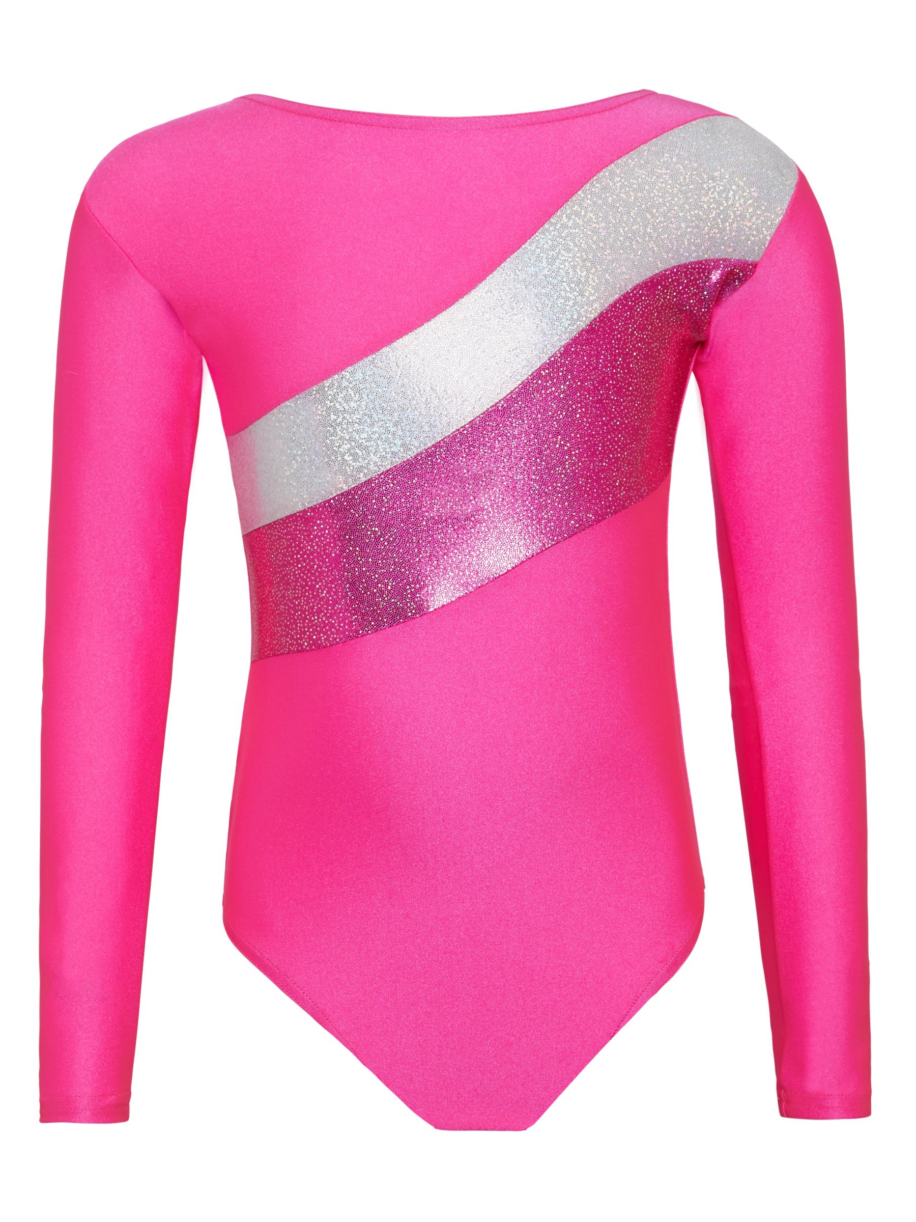 Tappers and Pointers Tappers and Pointers Sparkling Stripes Gymnastics Leotard