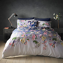 Buy Ted Baker Botanical Floral Cotton Bedding Online at johnlewis.com