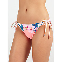 Buy Ted Baker Silvy Orchid Wonderland Bikini Bottoms, Pink Online at johnlewis.com