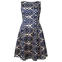 Buy Studio 8 Raquel Dress, Navy Online at johnlewis.com