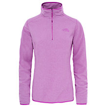 Buy The North Face 100 Glacier 1/4 Zip Women's Fleece, Purple Online at johnlewis.com