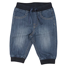Buy Polarn O. Pyret Baby Denim Trousers, Blue Online at johnlewis.com