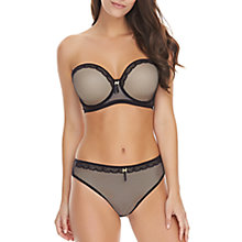 Buy Freya Idole Allure Moulded Strapless Bra, Black Online at johnlewis.com
