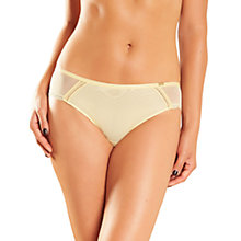 Buy Chantelle Parisian Brazilian Briefs, Vanilla Online at johnlewis.com