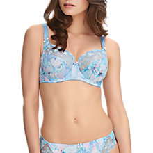Buy Fantasie Eloise Floral Print Side Support Full Cup Bra, Ice Blue Online at johnlewis.com