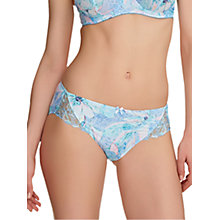 Buy Fantasie Eloise Floral Print Briefs, Ice Blue Online at johnlewis.com