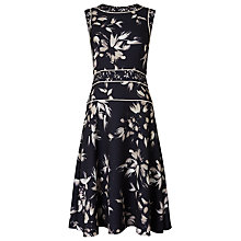 Buy Phase Eight Darby Floral Dress, Black Online at johnlewis.com