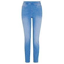 Buy Karen Millen Stretch Denim Leggings, Blue Online at johnlewis.com