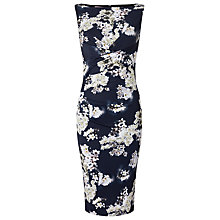 Buy Phase Eight Coraline Blossom Dress, Navy/Ivory Online at johnlewis.com
