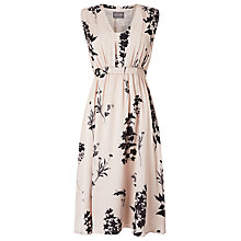 Buy Phase Eight Tatiana Printed Dress, Black/Cameo Online at johnlewis.com