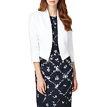Buy Phase Eight Valda Jacket, White Online at johnlewis.com