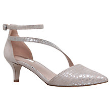 Buy Miss KG Archer Asymmetric Court Shoes, Metal Comb Online at johnlewis.com