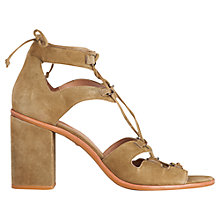 Buy Whistles Novara D Ring Block Heeled Sandals Online at johnlewis.com
