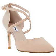 Buy Dune Cerys Two Part Cross Strap Court Shoes Online at johnlewis.com