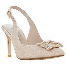 Buy Dune Daphnie Jewel Slingback Court Shoes Online at johnlewis.com