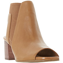 Buy Dune Jericho Block Heeled Sandals, Tan Online at johnlewis.com