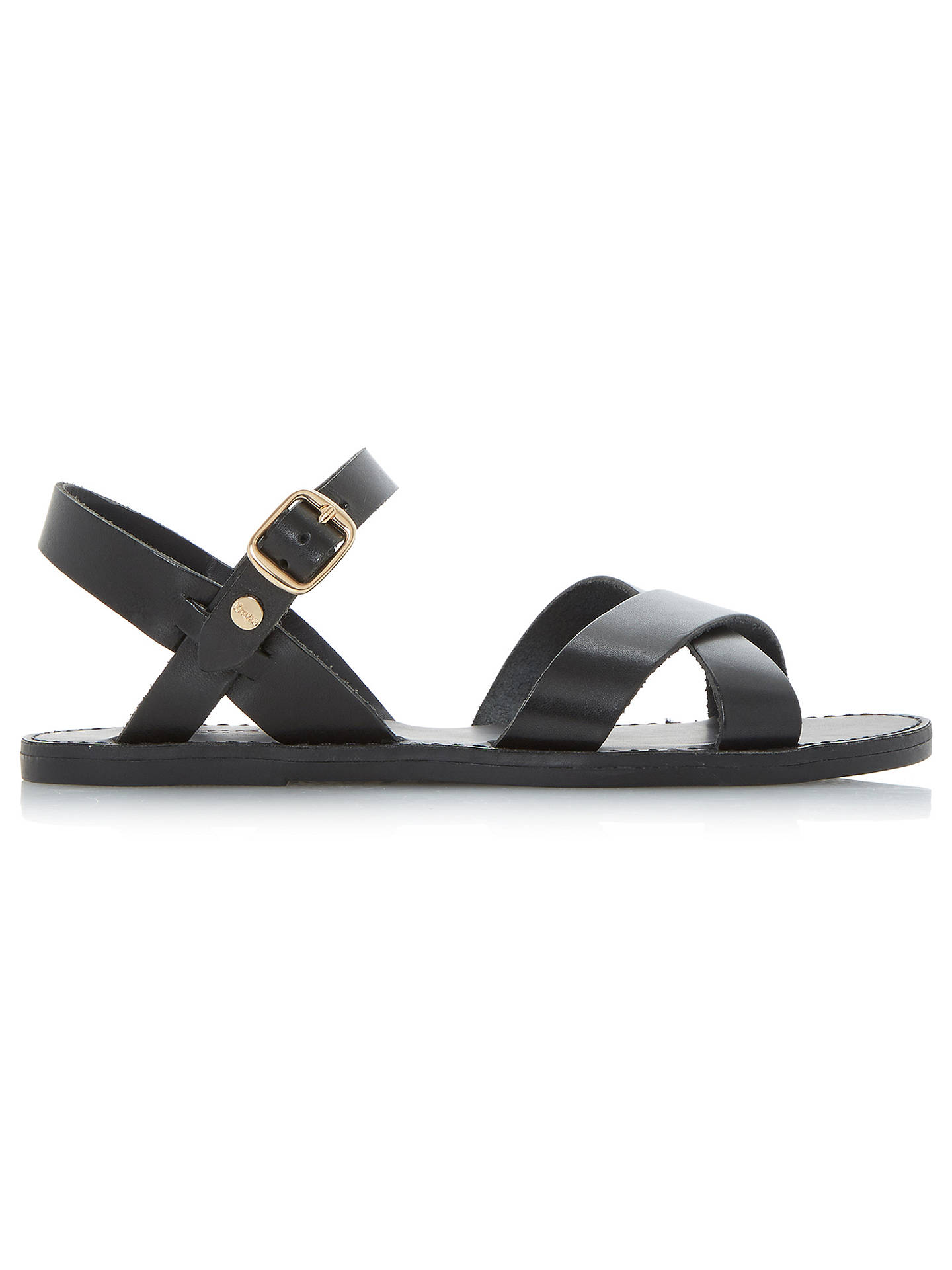 c8053ae4257abe Buy Dune Laila Cross Vamp Leather Sandals