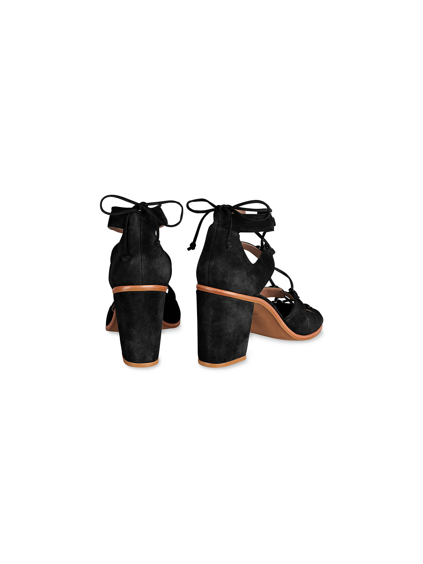 a7ed01be767 Whistles Novara D Ring Block Heeled Sandals at John Lewis   Partners