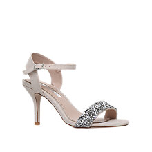 Buy Miss KG Blossom Occasion Stiletto Heeled Sandals, Nude Online at johnlewis.com