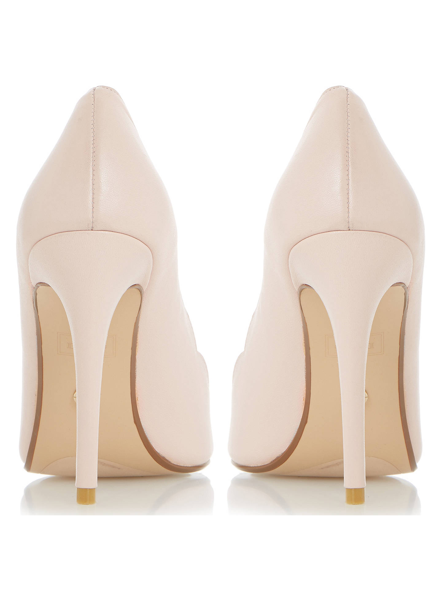942d21e966 ... Buy Dune Athena Stiletto Heeled Court Shoes, Blush, 5 Online at  johnlewis.com ...