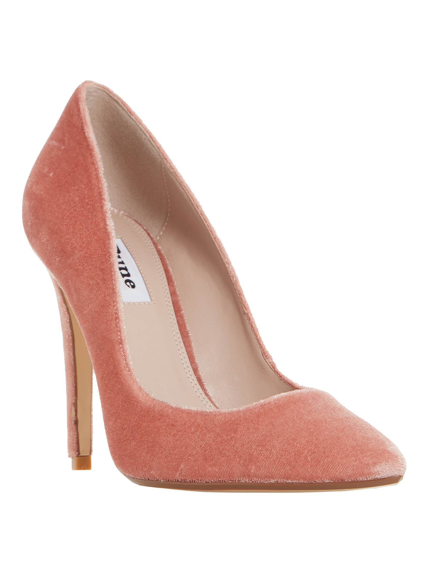 19940dfa2d9f Dune Aiyana Pointed Toe Court Shoes at John Lewis   Partners