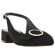 Buy Dune Como Slingback Block Heeled Court Shoes Online at johnlewis.com