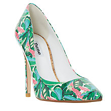 Buy Dune Bora Bora Stiletto Heeled Court Shoes, Multi Online at johnlewis.com