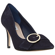 Buy Dune Aneeta Buckle Pointed Toe Court Shoes Online at johnlewis.com