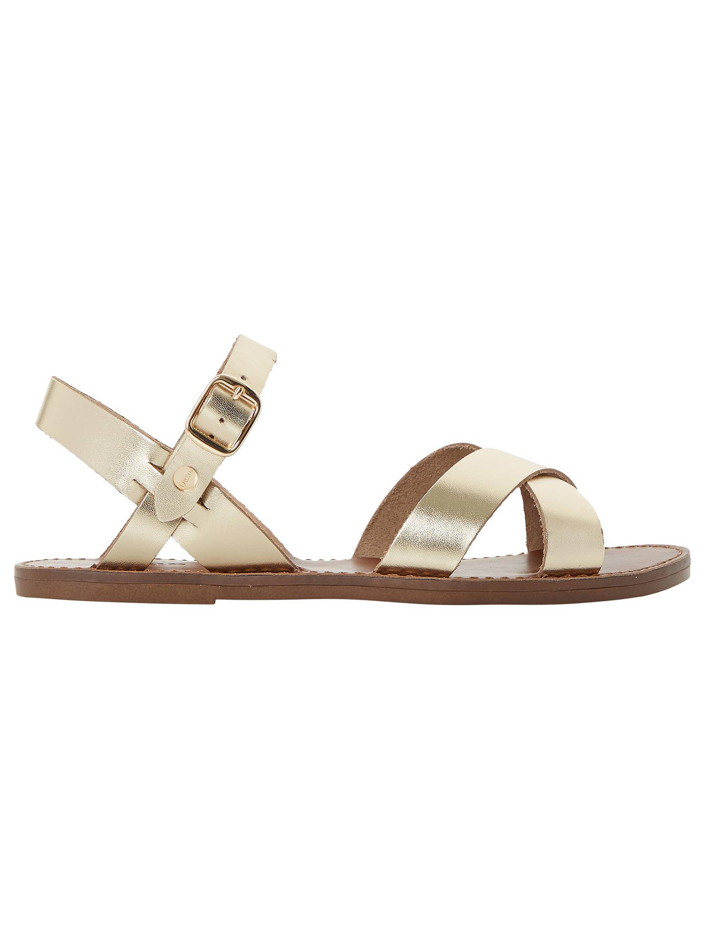 f1e41c0eae56 Buy Dune Laila Cross Vamp Leather Sandals