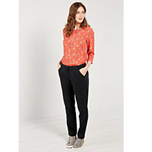 Buy White Stuff Holly Hock Slouch Trousers, Coal Online at johnlewis.com