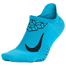 Buy Nike Unisex Dry Elite Cushioned No-Show Running Sock Online at johnlewis.com
