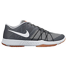 Buy Nike Zoom Train Incredibly Fast Men's Cross Trainer, Grey Online at johnlewis.com