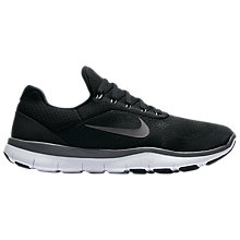 Buy Nike Free Trainer v7 Men's Training Shoes, Black/White Online at johnlewis.com