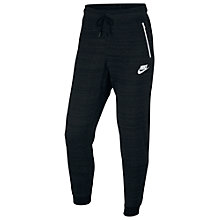 Buy Nike Sportswear Advance 15 Bottoms, Black Online at johnlewis.com