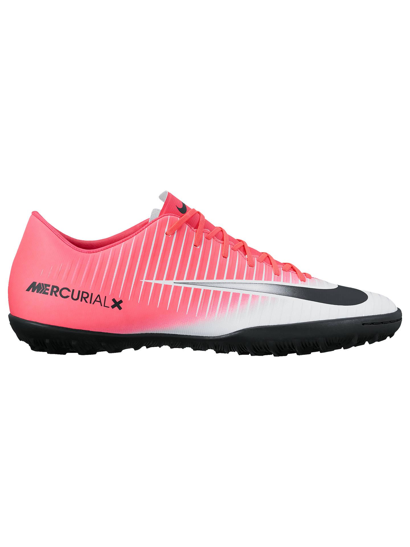 low cost 0c849 6f95d Nike MercurialX Victory VI Men's Turf Football Boots, Pink ...