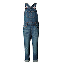 Buy John Lewis Girls' Denim Dungaree, Blue Online at johnlewis.com