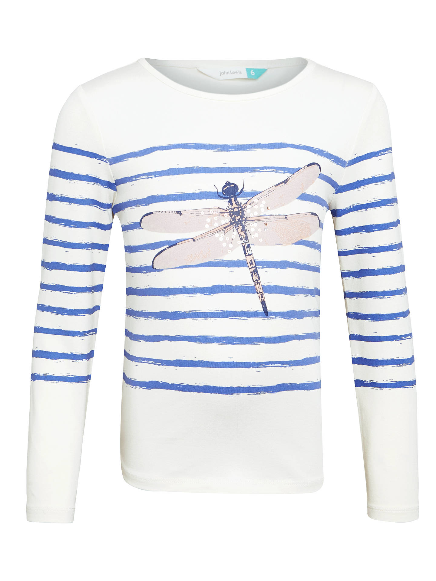 98cfbc5aeb9 Buy John Lewis Girls  Sparkly Dragonfly T-Shirt