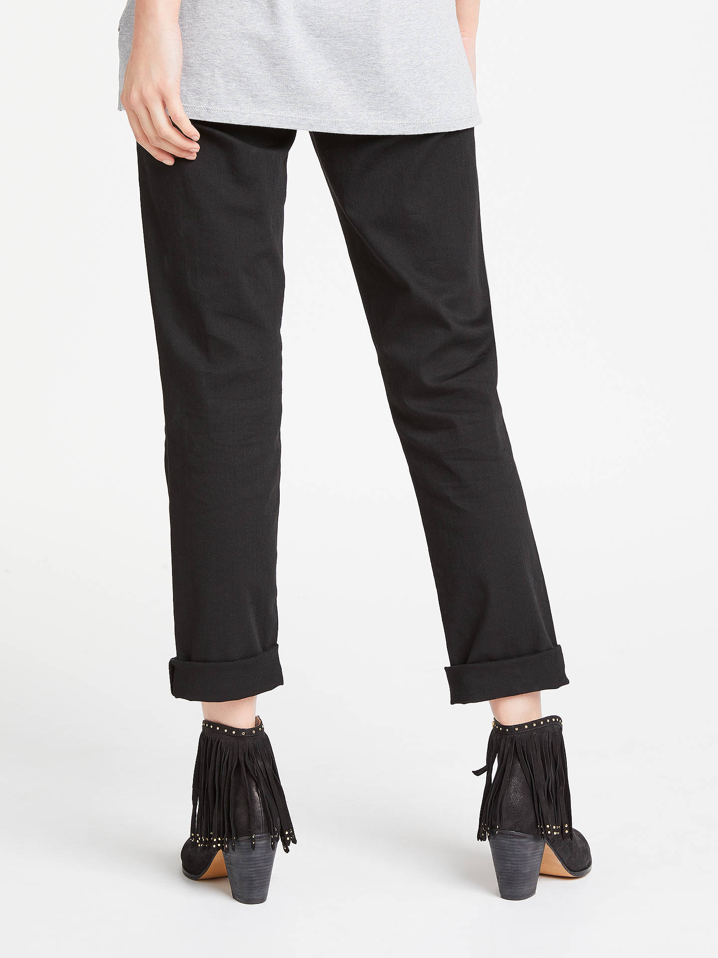 BuyAND/OR Silverlake Straight Leg Jeans, Black, 26 Online at johnlewis.com