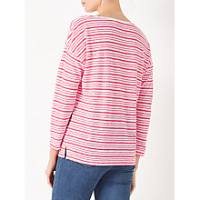 Buy John Lewis Linen Jersey Drop Sleeve T-Shirt Online at johnlewis.com