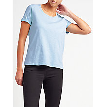 Buy Collection WEEKEND by John Lewis Cotton Slub Short Sleeve T-Shirt Online at johnlewis.com